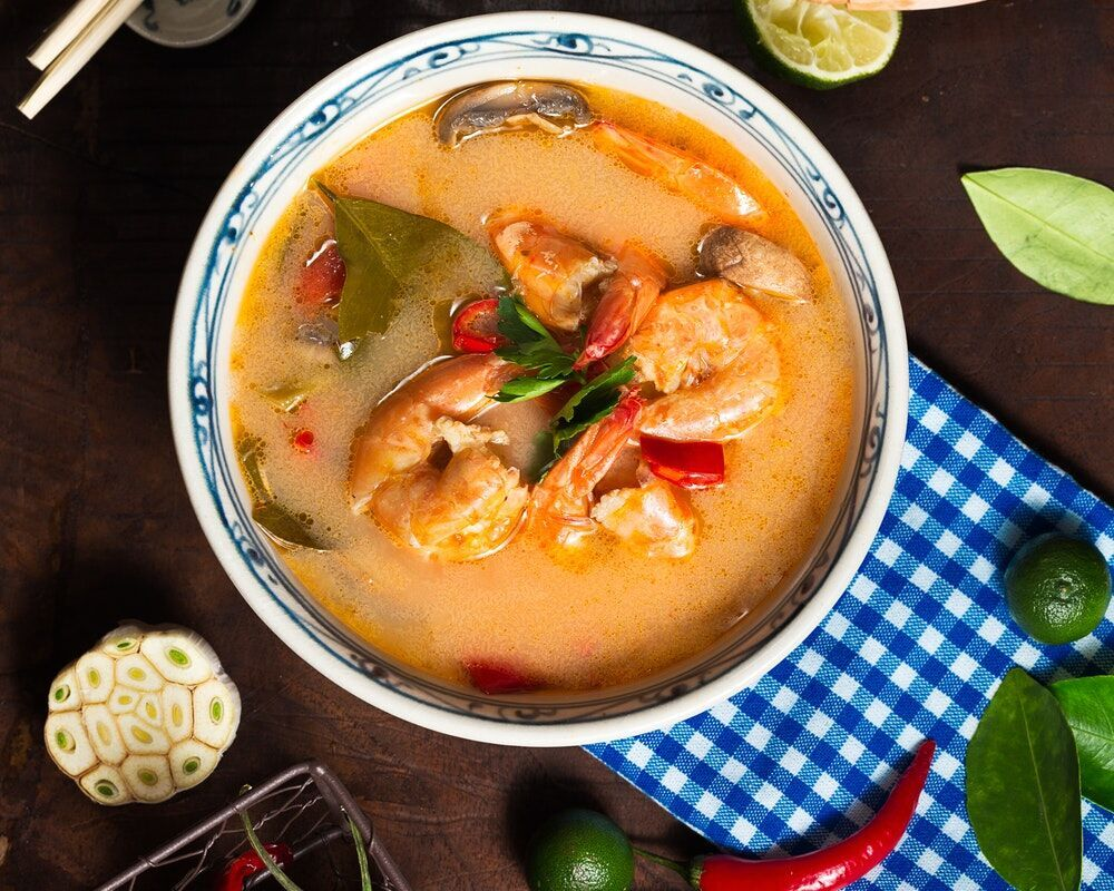 leucine in tomyum soup
