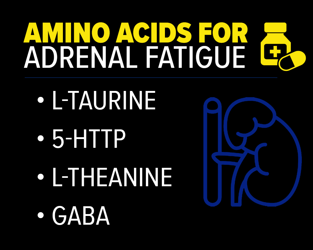 l taurine, 5 http, l theanine and GABA for adrenal fatigue