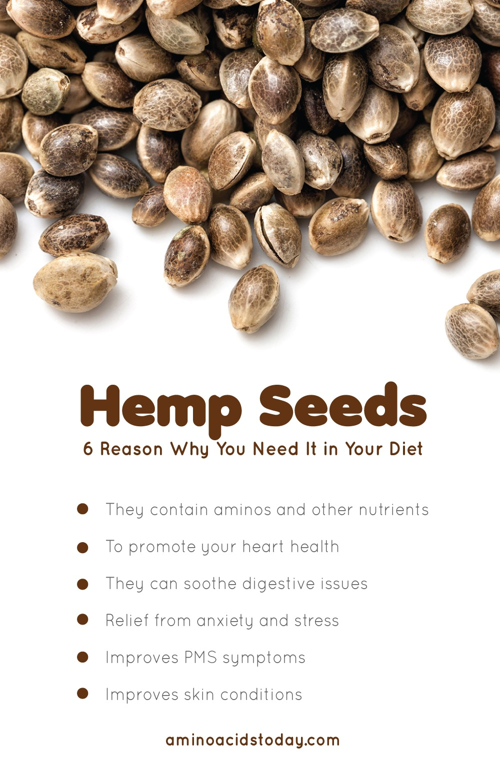 Amino Acids In hemp Seeds